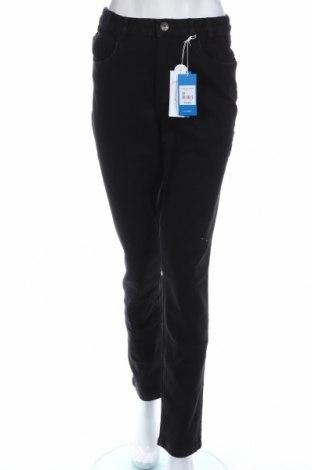 Дамски дънки Tbs, Размер S, Цвят Черен, 99% памук, 1% еластан, Цена 43,60лв.
