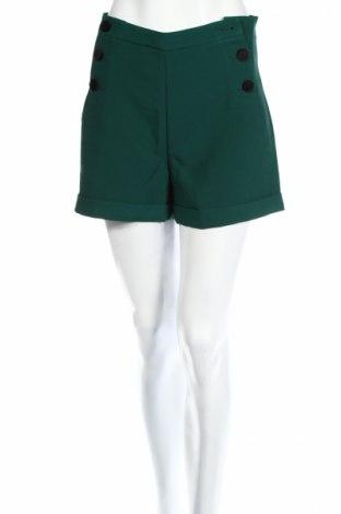 Dámske kraťasy  Frnch, Veľkosť M, Farba Zelená, 98% polyester, 2% elastan, Cena  15,80€