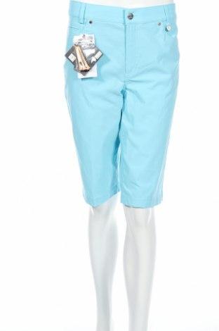 Дамски къс панталон Golfino, Размер L, Цвят Син, 94% полиамид, 6% еластан, Цена 19,60лв.