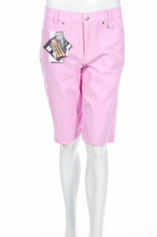 Дамски къс панталон Golfino, Размер M, Цвят Розов, 94% полиамид, 6% еластан, Цена 19,60лв.