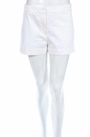 Дамски къс панталон H&M Conscious Collection, Размер M, Цвят Бял, 97% памук, 3% еластан, Цена 10,92лв.