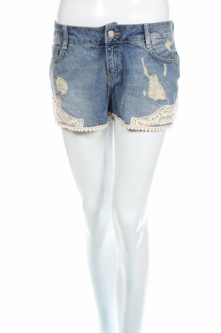 Dámske kraťasy  Mohito, Veľkosť M, Farba Modrá, 100% bavlna, Cena  19,56€