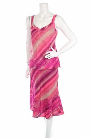 Дамски костюм Monsoon, Размер M, Цвят Розов, 100% лен, Цена 31,24лв.