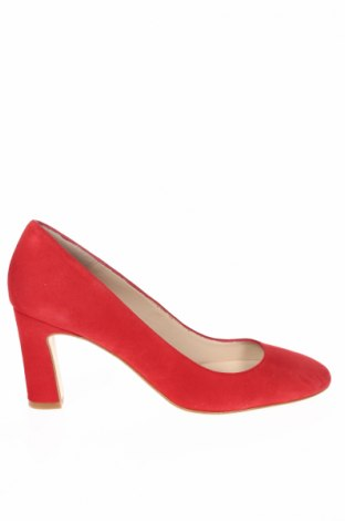 Dámske topánky  Elodie, Veľkosť 38, Farba Červená, Prírodný velur , Cena  24,16€