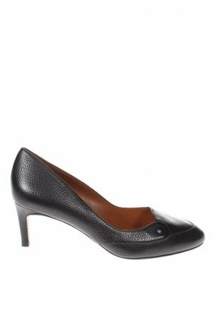 Γυναικεία παπούτσια Heyraud, Μέγεθος 38, Χρώμα Γκρί, Γνήσιο δέρμα, Τιμή 33,87€