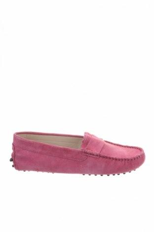 Γυναικεία παπούτσια John Scott, Μέγεθος 38, Χρώμα Ρόζ , Φυσικό σουέτ, Τιμή 27,60€