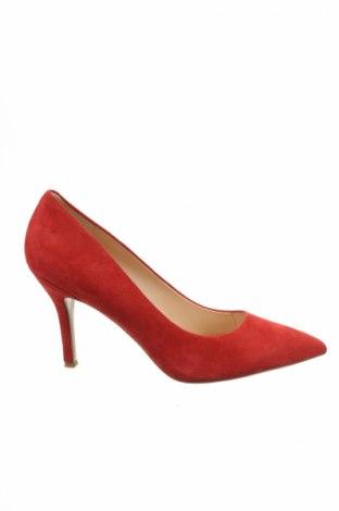 Dámske topánky  Nine West, Veľkosť 41, Farba Červená, Prírodný velur , Cena  39,68€