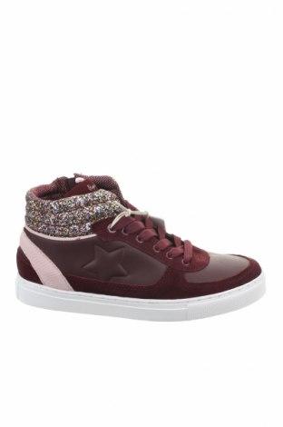 Dámske topánky  Pepe Jeans, Veľkosť 39, Farba Červená, Pravá koža , Prírodný velur , Cena  36,91€