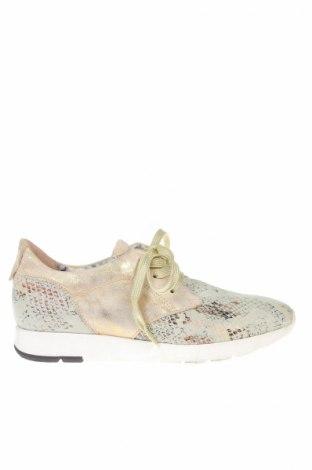 Дамски обувки San Marina, Размер 39, Цвят Многоцветен, Естествен велур, Цена 71,52лв.