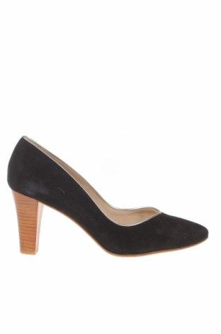 Дамски обувки San Marina, Размер 40, Цвят Черен, Естествен велур, Цена 48,76лв.