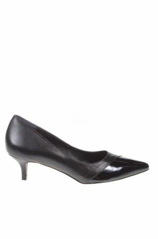 Дамски обувки San Marina, Размер 36, Цвят Черен, Естествена кожа, Цена 57,12лв.
