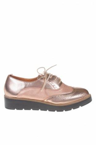 Дамски обувки Sixth Sens, Размер 38, Цвят Златист, Еко кожа, Цена 31,27лв.