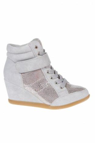 Дамски обувки Sixth Sens, Размер 36, Цвят Сив, Еко кожа, Цена 41,87лв.