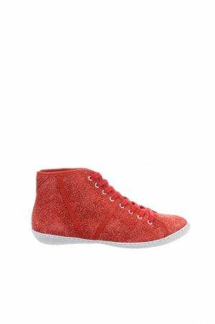 Дамски обувки Tbs, Размер 37, Цвят Червен, Естествен велур, Цена 38,15лв.