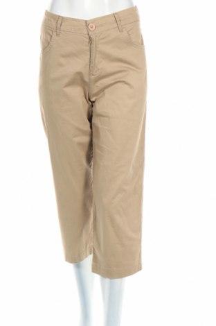 Дамски панталон Artime, Размер L, Цвят Бежов, 98% памук, 2% еластан, Цена 3,12лв.