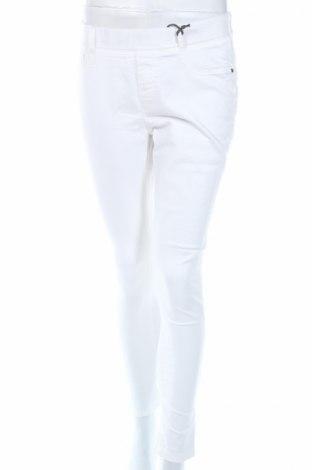 Γυναικείο παντελόνι Eden, Μέγεθος M, Χρώμα Λευκό, 66% βαμβάκι, 32% πολυεστέρας, 2% ελαστάνη, Τιμή 10,05€
