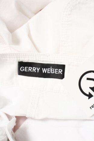Дамски панталон Gerry Weber, Размер XS, Цвят Бял, 71% памук, 29% полиамид, Цена 10,40лв.