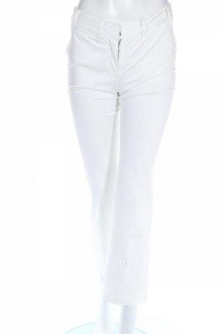 Γυναικείο παντελόνι Hallhuber, Μέγεθος XS, Χρώμα Λευκό, 60% βαμβάκι, 37% πολυεστέρας, 3% ελαστάνη, Τιμή 3,05€