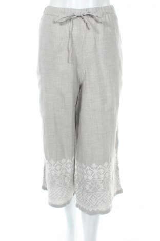 Pantaloni de femei Oysho, Mărime M, Culoare Gri, 95% bumbac, 5% poliester, Preț 77,63 Lei