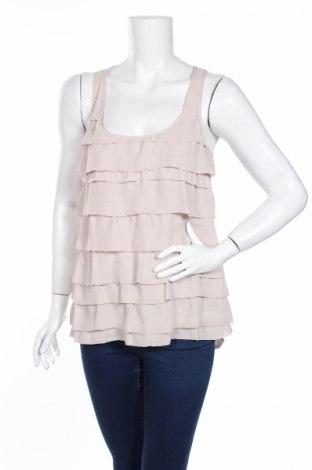 Γυναικείο αμάνικο μπλουζάκι Aqua, Μέγεθος S, Χρώμα  Μπέζ, Πολυεστέρας, Τιμή 2,76€