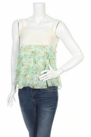Γυναικείο αμάνικο μπλουζάκι Fashion Club, Μέγεθος S, Χρώμα Πολύχρωμο, Πολυεστέρας, Τιμή 2,17€