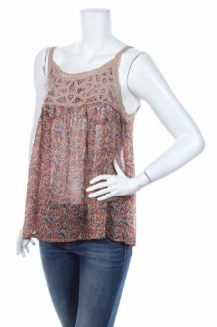 Γυναικείο αμάνικο μπλουζάκι Lyla Lyla, Μέγεθος L, Χρώμα Πολύχρωμο, Πολυεστέρας, Τιμή 2,44€
