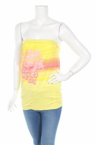 Дамски потник Oasis, Размер S, Цвят Жълт, Вискоза, Цена 5,51лв.