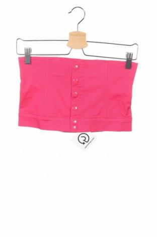 Дамски потник Yes Or No, Размер S, Цвят Розов, 97% памук, 3% еластан, Цена 3,94лв.