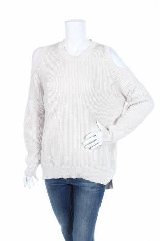 Дамски пуловер AllSaints, Размер M, Цвят Сив, Памук, Цена 93,87лв.