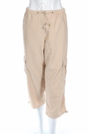 Дамски спортен панталон, Размер L, Цвят Бежов, 100% полиестер, Цена 3,08лв.