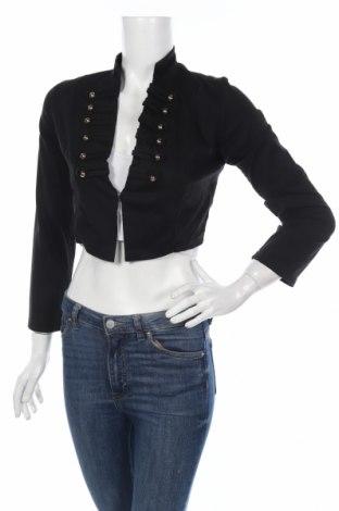 Γυναικείο σακάκι, Μέγεθος S, Χρώμα Μαύρο, 95% βαμβάκι, 5% ελαστάνη, Τιμή 4,02€