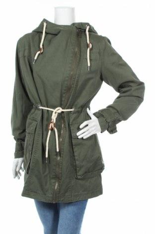 Дамско яке Brandit, Размер M, Цвят Зелен, 100% памук, Цена 29,75лв.