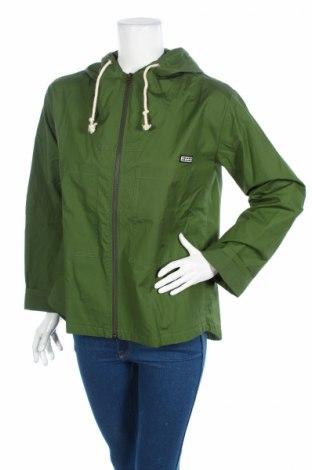 Γυναικείο μπουφάν Loreak Mendian, Μέγεθος XS, Χρώμα Πράσινο, 95% βαμβάκι, 5%ακρυλικό, Τιμή 28,22€