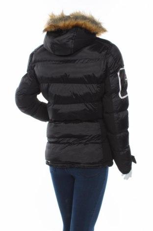 Дамско яке за зимни спортове Geographical Norway, Размер S, Цвят Черен, Полиестер, Цена 171,75лв.