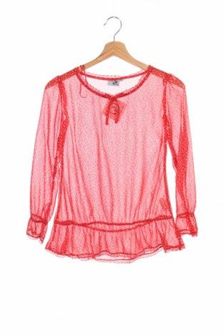 Детска блуза Gatonegro, Размер 8-9y/ 134-140 см, Цвят Червен, Полиестер, Цена 3,50лв.