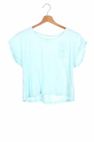 Детска блуза H&M, Размер 14-15y/ 168-170 см, Цвят Син, Памук, Цена 6,04лв.