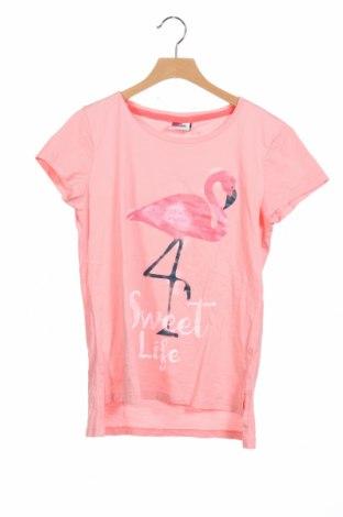 Детска блуза Yigga, Размер 12-13y/ 158-164 см, Цвят Розов, Памук, Цена 6,14лв.