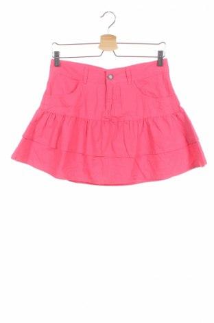 Детска пола Nkd, Размер 12-13y/ 158-164 см, Цвят Розов, 100% памук, Цена 4,46лв.