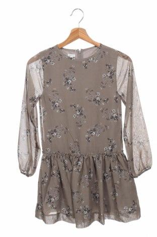 Παιδικό φόρεμα Gocco, Μέγεθος 9-10y/ 140-146 εκ., Χρώμα Γκρί, Πολυεστέρας, Τιμή 7,99€
