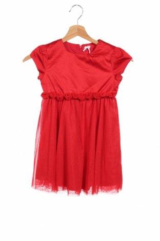 Detské šaty  Konigsmuhle, Veľkosť 5-6y/ 116-122 cm, Farba Červená, Polyester, Cena  9,54€