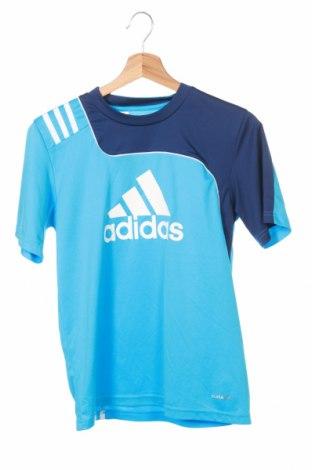 Detské tričko Adidas, Veľkosť 11-12y/ 152-158 cm, Farba Modrá, Polyester, Cena  9,53€