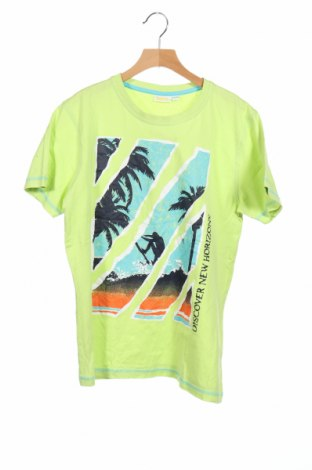 Детска тениска Boys, Размер 12-13y/ 158-164 см, Цвят Зелен, Памук, Цена 8,09лв.