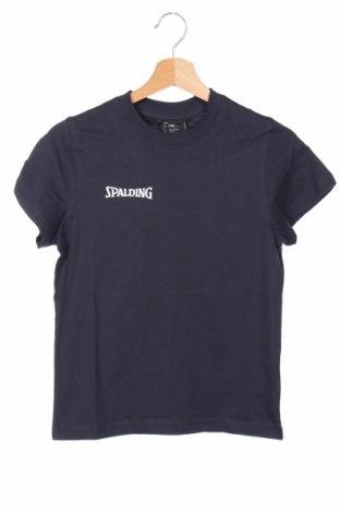 Παιδικό μπλουζάκι Spalding, Μέγεθος 8-9y/ 134-140 εκ., Χρώμα Μπλέ, Βαμβάκι, Τιμή 5,26€