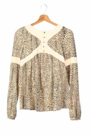 Детска блуза Roberto Cavalli Junior, Размер 15-18y/ 170-176 см, Цвят Екрю, 90% памук, 10% еластан, Цена 106,64лв.