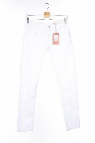 Детски дънки Million X, Размер 14-15y/ 168-170 см, Цвят Бял, 98% памук, 2% еластан, Цена 13,32лв.