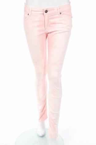 Детски дънки One By One, Размер 15-18y/ 170-176 см, Цвят Розов, 98% памук, 2% еластан, Цена 5,25лв.