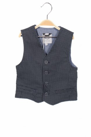 Детски елек Papermoon, Размер 7-8y/ 128-134 см, Цвят Син, 97% памук, 3% еластан, Цена 19,60лв.