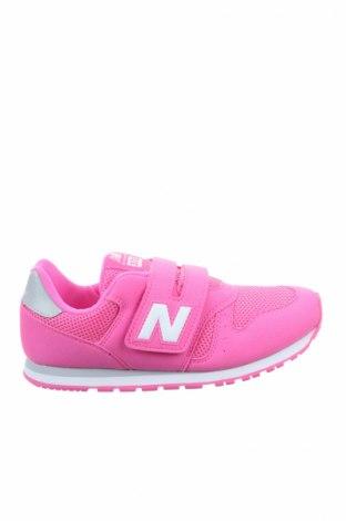 Детски обувки New Balance, Размер 35, Цвят Розов, Текстил, Цена 62,30лв.