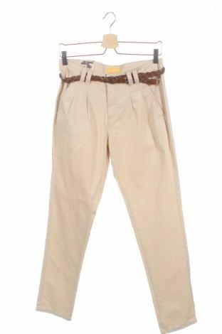 Детски панталон One By One, Размер 15-18y/ 170-176 см, Цвят Бежов, Памук, Цена 8,50лв.