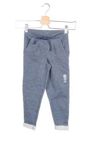 Dětské tepláky Grain De Ble, Rozměr 3-4y/ 104-110 cm, Barva Modrá, 69% bavlna, 25% polyester, 6% kovové nitě, Cena  220,00Kč